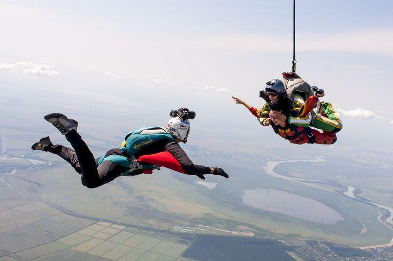 съемка оператор прыжок