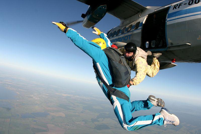 обучение парашют