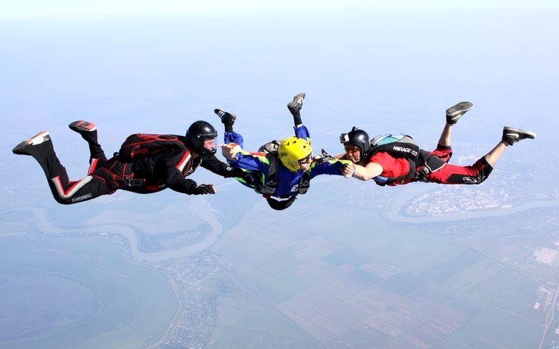 курс парашют