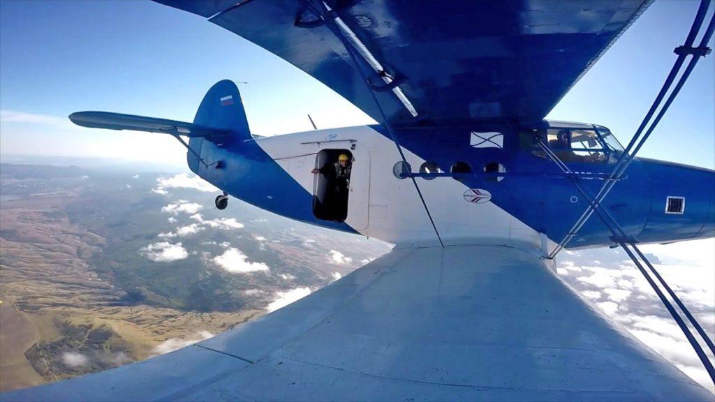 Самолет крым