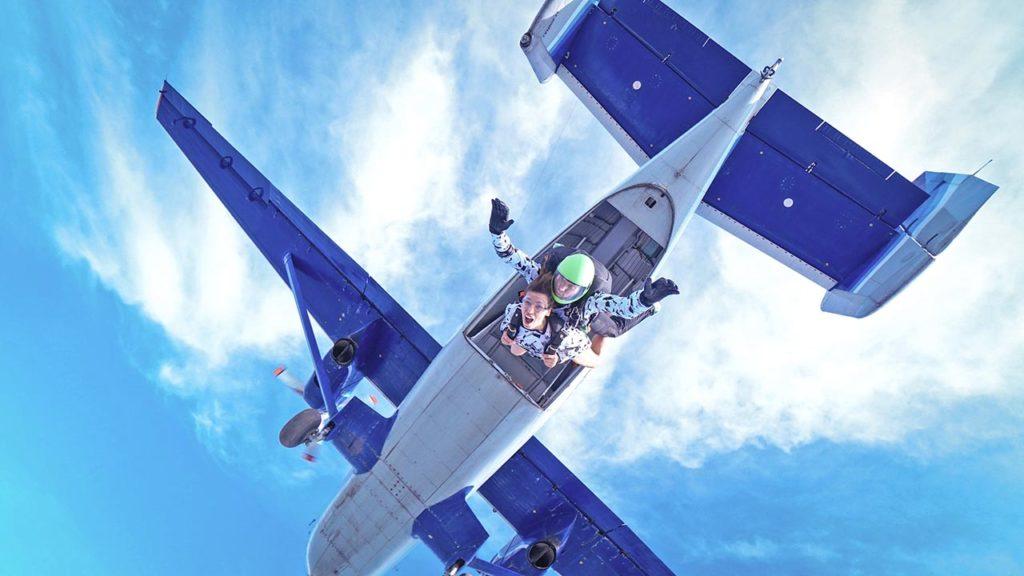 прыжок с парашютом ростов