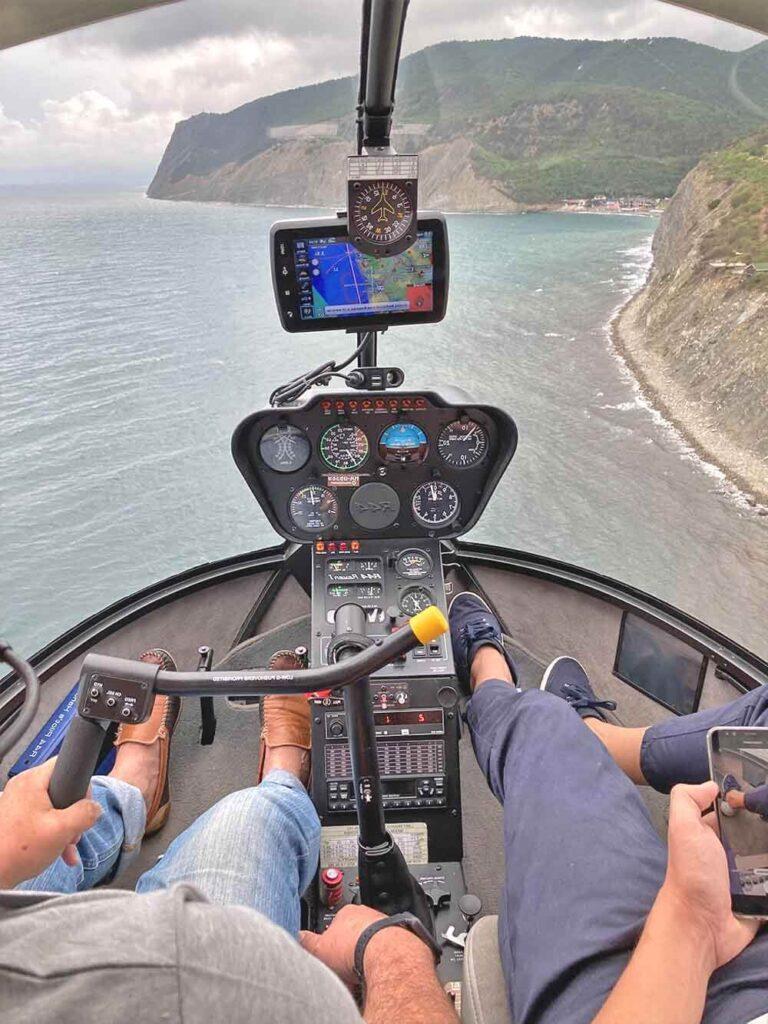 прогулки на вертолете новороссийск