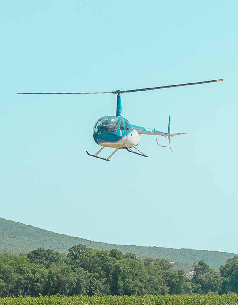 прогулка на вертолете анапа