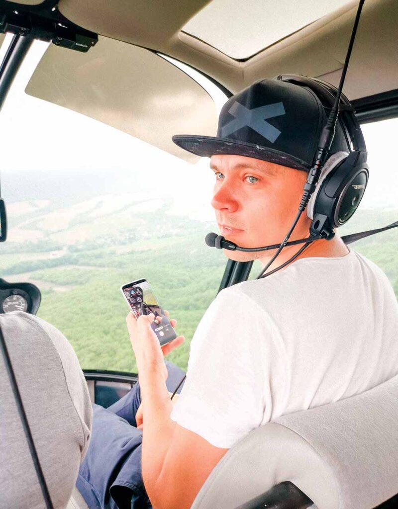 прогулки на вертолете анапа