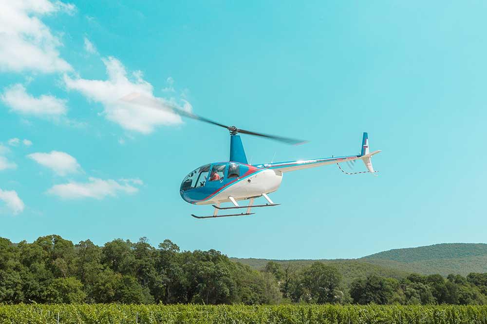 вертолетные прогулки анапа